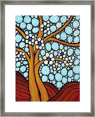 The Loving Tree Framed Print by Sharon Cummings