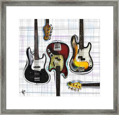 The Low End Framed Print