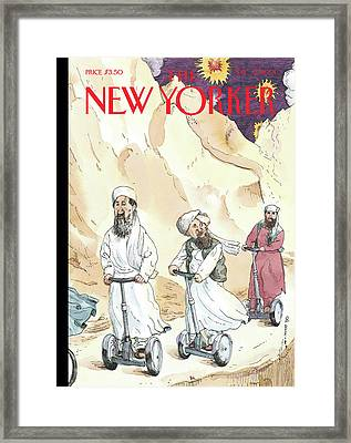 The Low Road Framed Print by Barry Blitt