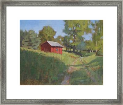 The Low Road Framed Print by Todd Baxter