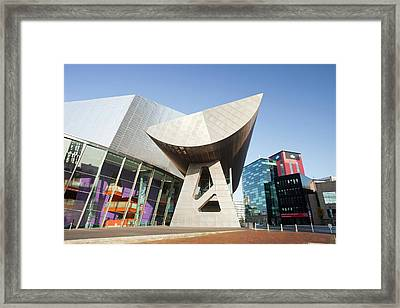 The Lowry Theatre Framed Print by Ashley Cooper