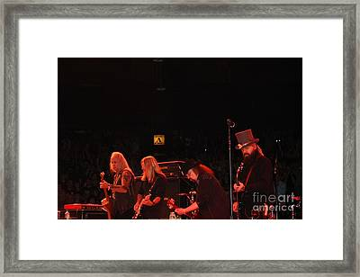 The Lynyrd Skynyrd Guitar Army Framed Print