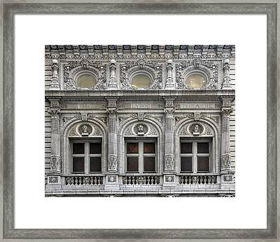The Lyric Theatre In New York Framed Print