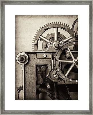 The Machine Framed Print by Martin Bergsma