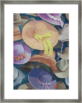 The Mad Hatter Framed Print by Tony Caviston