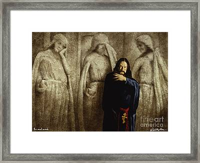 The Mad Monk... Framed Print by Will Bullas