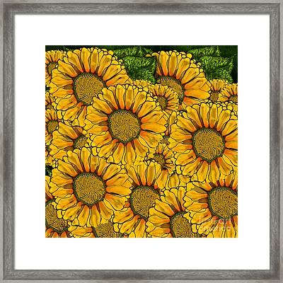 The Madding Crowd Framed Print