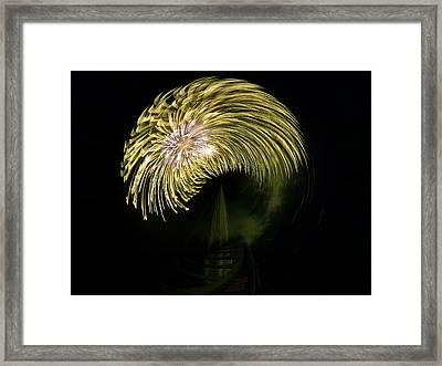 The Dumb Blonde Framed Print by Steve Taylor