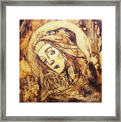 The Madonna Of Medjugorje,  Framed Print