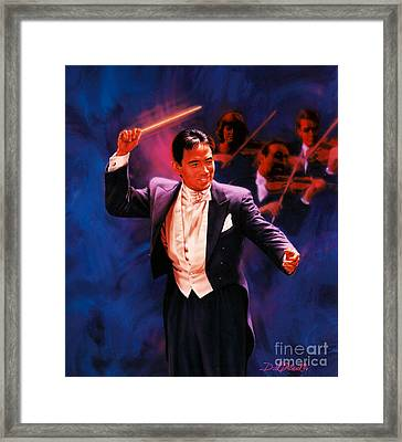 The Maestro Framed Print