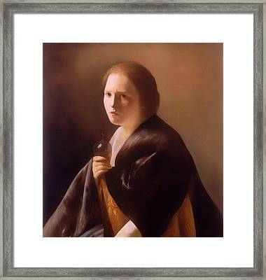 The Magdalen  Framed Print by Mountain Dreams