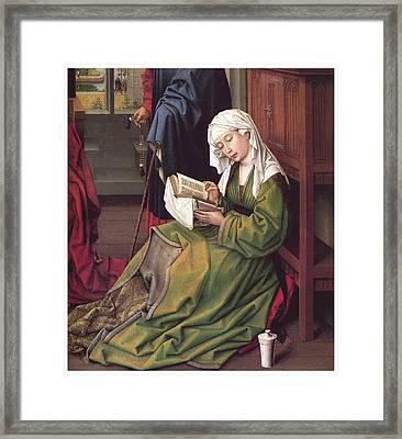 The Magdalen Reading Framed Print by Rogier Van Der Weyden