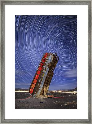 The Magic Bus Framed Print by Rick Berk