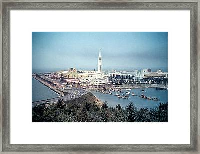 The magic City In Sf Bay Framed Print