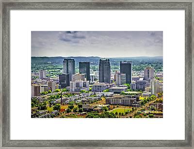 The Magic City Framed Print