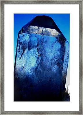 The Magic Crystal Framed Print