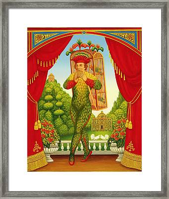 The Magic Flute Framed Print by Frances Broomfield