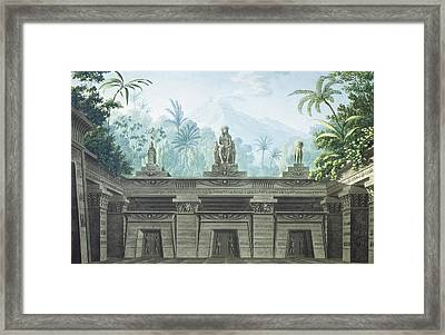 The Magic Flute Framed Print by Karl Friedrich Schinkel
