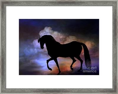 The Magic Horse..... Framed Print by Andrzej Szczerski