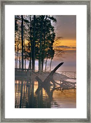 The Magic Hour Framed Print by Lisa Wooten
