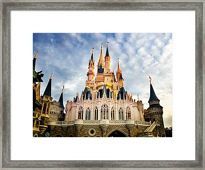 The Magic Kingdom Framed Print by Greg Fortier