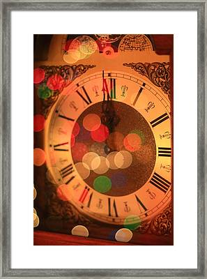 The Magic Of Christmas Eve Framed Print by Dan Sproul