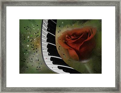 The Magic Of Love And Music Framed Print