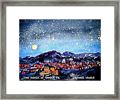 The Magic Of Santa Fe Framed Print