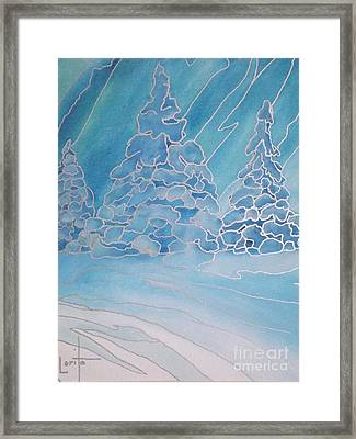 The Magic Of Snow Framed Print