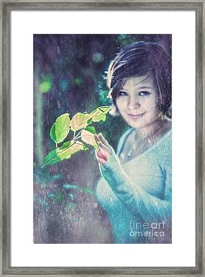 The Magic Of Spring Framed Print
