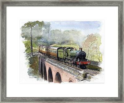 The Magic Of Steam Framed Print