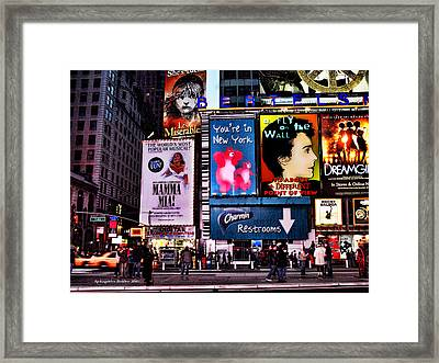 The Magic Of The City #4 Framed Print by Aleksander Rotner