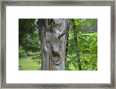 The Magic Of Unicorns Framed Print by Maria Urso