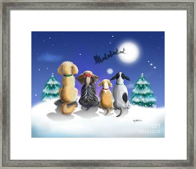 The Magical Night Framed Print