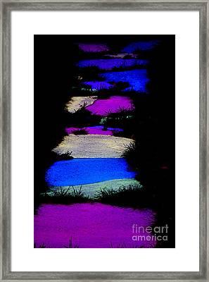The Magical Sidewalk Framed Print