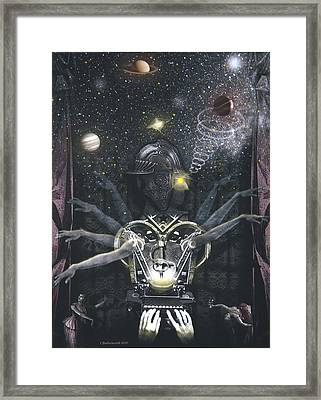 The Magician Framed Print by Larry Butterworth