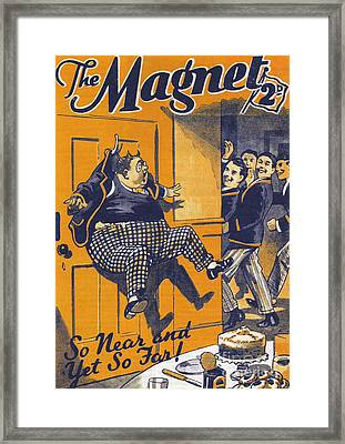 The Magnet 1930s Uk Billy Bunter Framed Print by The Advertising Archives