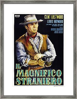 The Magnificent Stranger Aka El Framed Print by Everett