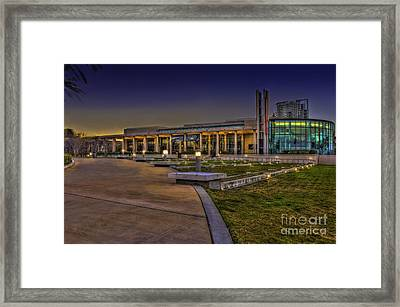 The Mahaffey Theater Framed Print by Marvin Spates
