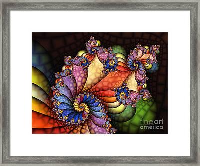 The Maharajahs New Hat-fractal Art Framed Print