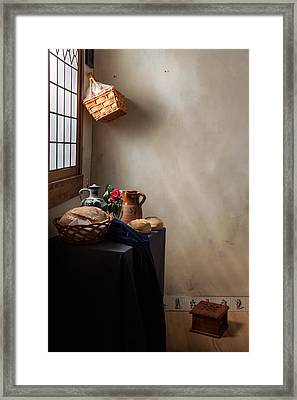 The Maid Has Left Framed Print by Levin Rodriguez