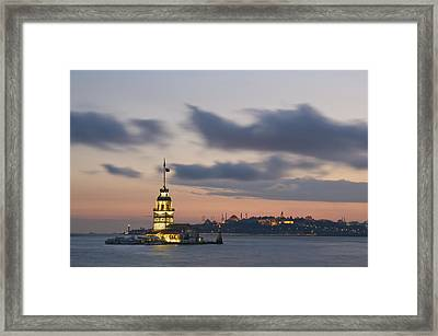 The Maiden's Tower  Framed Print