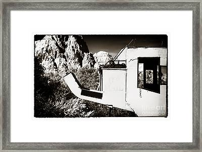 The Mail Coach Framed Print by John Rizzuto