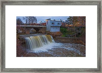 The Main Falls Framed Print