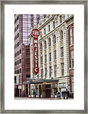 The Majestic  Framed Print by Heather Applegate