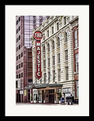 Elms Theater Framed Prints