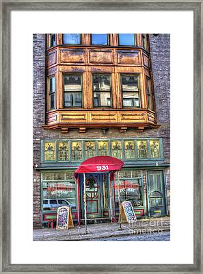 The Majestic Restaurant Framed Print