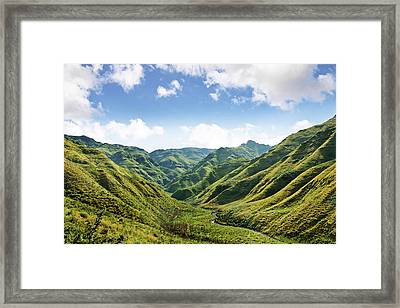 The Majestic Side Of Nature Framed Print by Yuri arcurs