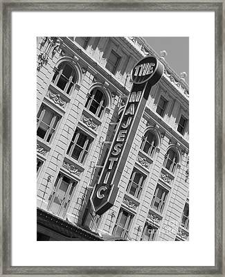 The Majestic Theater Dallas #3 Framed Print