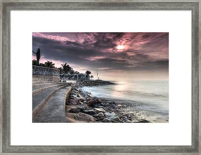 The Malecon Framed Print
